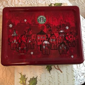 Starbucks circulated in 2000 Holiday cookie tin